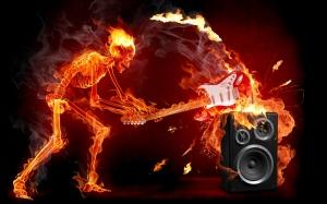 Uma banda de rock por dia.