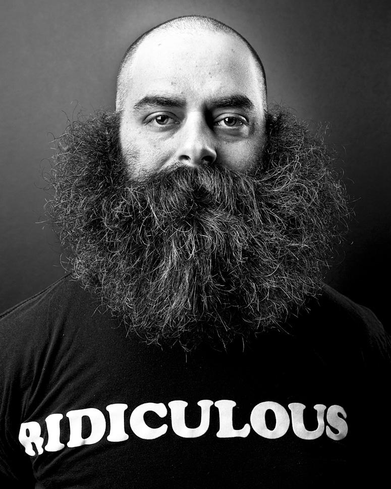 Uma barba por dia.